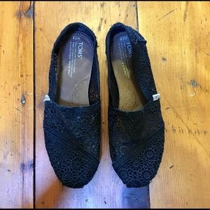 Lace Toms Shoes